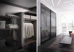 практични тъмни гардероби модерни