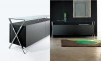 Дизайнерски черен шкаф