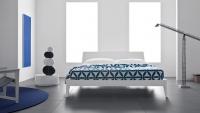 Дизайнерска бяла спалня