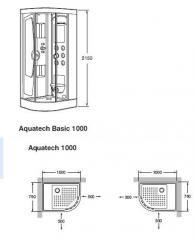 Душ кабина с хидромасаж
