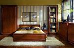 Поръчка на класическа спалня в шоколадови нюанси
