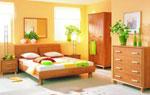 Цялостен дизайн за спалня по поръчка в медени нюанси на кафявото