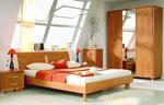 Спалня с крачета по поръчка в карамелено кафяво