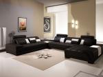 П-образен диван с лежанка - луксозна изработка по поръчка