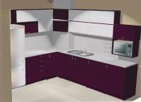 Модерна кухня ъглова